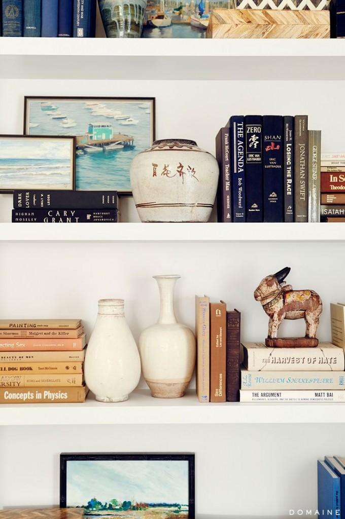 why works shelf styling